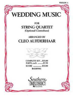 Wedding Music: Violin 1 Part