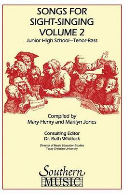 Songs for Sight Singing: Junior High School Edition Tb Book