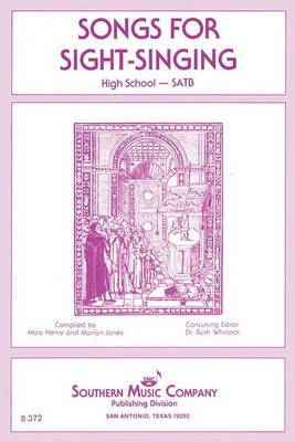 Songs for Sight Singing: High School Edition SATB Book