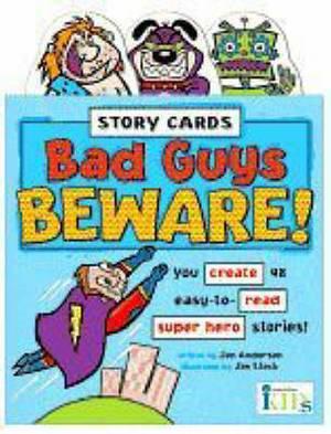 Bad Guys Beware!: Story Cards