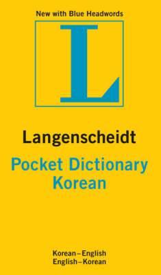 Korean Langenscheidt Pocket Dictionary