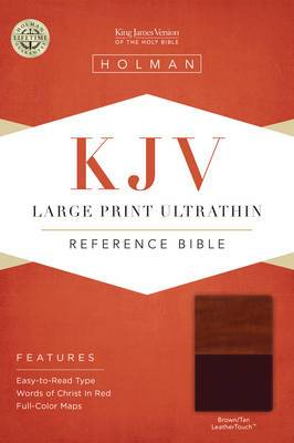 Large Print Ultrathin Reference Bible-KJV
