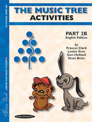 The Music Tree English Edition Activities Book: Part 2b