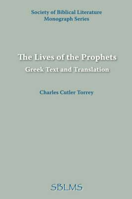 The Lives of the Prophets: Greek Text and Translation