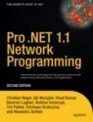 Pro .NET 1.1 Network Programming