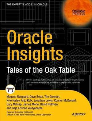 Oracle Insights: Tales of the Oaktable