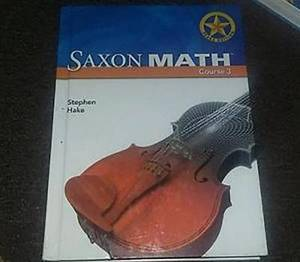 Saxon Math Course 3 Texas: Teacher Resource Notebook Grade 8 Texas Connect