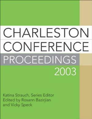 Charleston Conference Proceedings: 2003