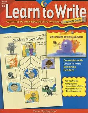 Learn to Write Resource Guide: Grades K-2