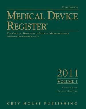 Medical Device Register 2011