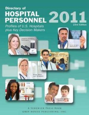 Directory of Hospital Personnel, 2011