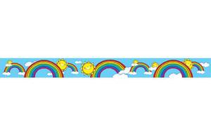 Suns 'n Rainbows: 3  Straight Border
