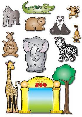 Zoo Friends Bulletin Board Set
