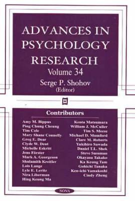 Advances in Psychology Research: Volume 34