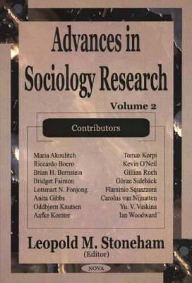 Advances in Sociology Research: Volume 2