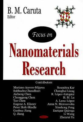 Focus on Nanomaterials Research