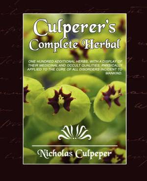 Culpeper's Complete Herbal