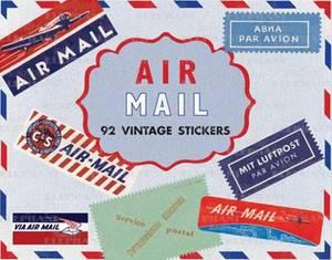 Air Mail Stickers Box