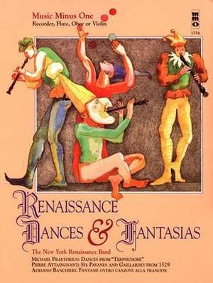 Renaissance Dances & Fantasias  : Music Minus One Recorder
