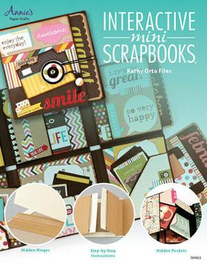Interactive Mini Scrapbooks: Featuring Hidden Hinges & Pockets