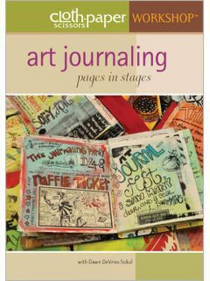 Art Journaling Pages in Stages