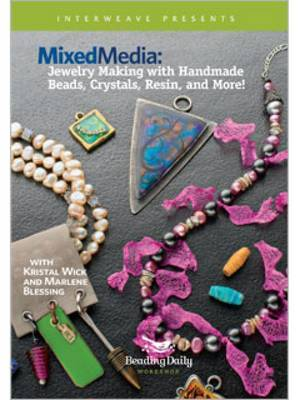 Mixed Media Jewelry Making with Handmade Beads Crystals Resin and More!