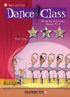 Dance Class Graphic Novels Boxed Set: Vol. #1-4
