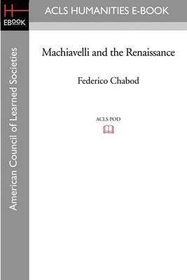 Machiavelli and the Renaissance