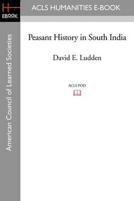Peasant History in South India