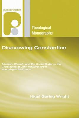 Disavowing Constantine