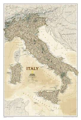 Italy Executive, Tubed: Wall Maps Countries & Regions