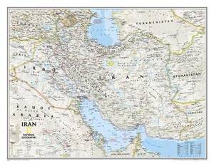 Iran Classic, Tubed: Wall Maps Countries & Regions