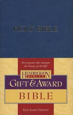 KJV Gift and Award Bible - Blue