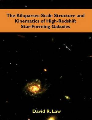 The Kiloparsec-Scale Structure and Kinematics of High-Redshift Star-Forming Galaxies