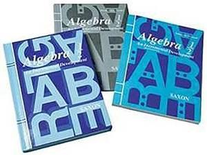 Algebra 1/2 Homeschool Kit: An Incremental Development