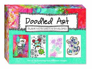 Doodled Art Blank Notecards & Envelopes