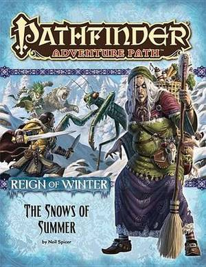 Pathfinder Adventure Path: Pt. 1: Reign of Winter - The Snows of Summer