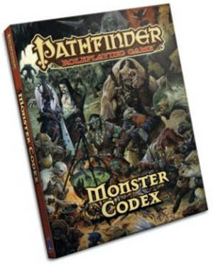 Pathfinder Roleplaying Game: Monster Codex: Monster Codex