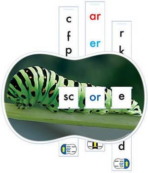 Word Building Slide N' Spell: Spell 220 Words Using 32 Word Families