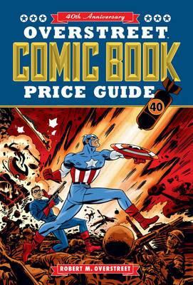 Overstreet Comic Book Price Guide Volume 40 SC - Captain America Cover