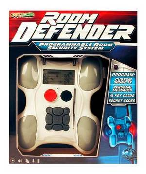 Room Defender: Programmable Room Security System