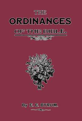 The Ordinances of the Bible