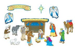 Nativity Mini Bulletin Board Set
