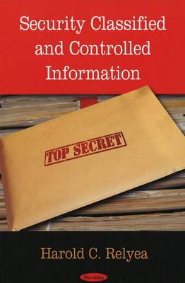 Security Classified & Controlled Information