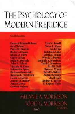 Psychology of Modern Prejudice