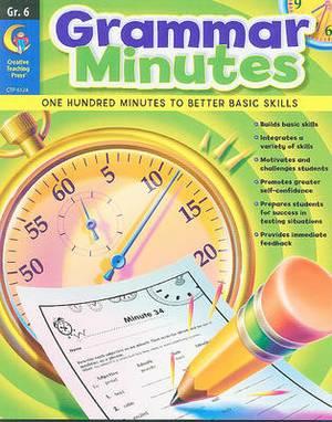 Grammar Minutes, Grade 6