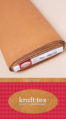 Kraft Tex Bolt: Kraft Paper Fabric . 19  X 10 Yard Bolt