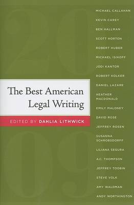 The Best American Legal Writing: 2009