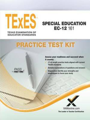 Texes Special Education EC-12 161 Practice Test Kit