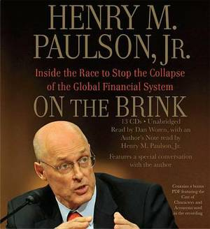 On the Brink: Inside the Race to Stop the Collapse of the Global Financial System